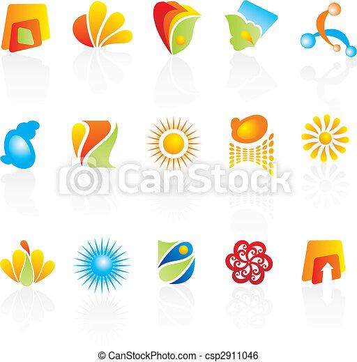 company logos design - csp2911046