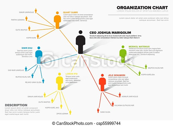 Company organization hierarchy schema diagram template minimalist company organization hierarchy schema diagram template csp55999744 flashek Images