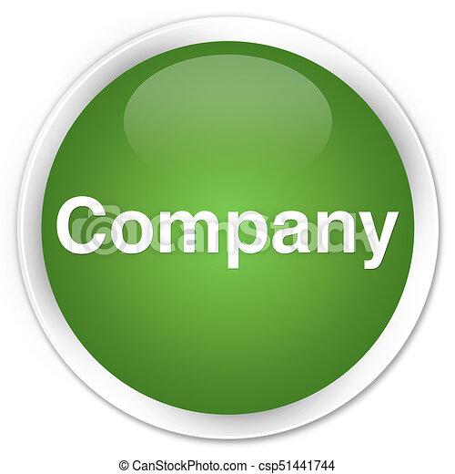 Company premium soft green round button - csp51441744