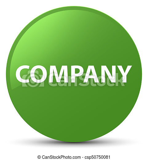 Company soft green round button - csp50750081