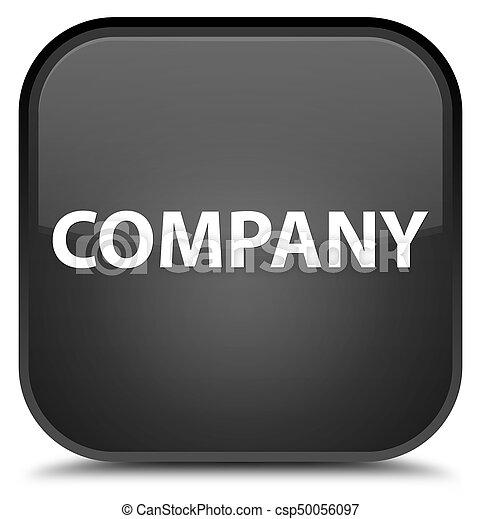 Company special black square button - csp50056097