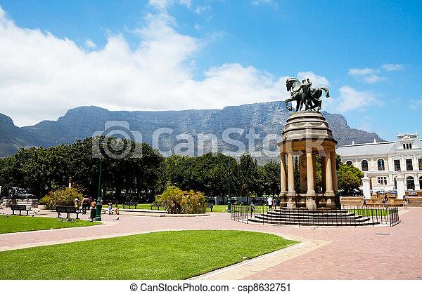company's garden, cape town, south africa - csp8632751