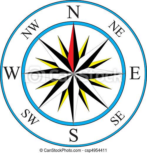 compas, icône - csp4954411