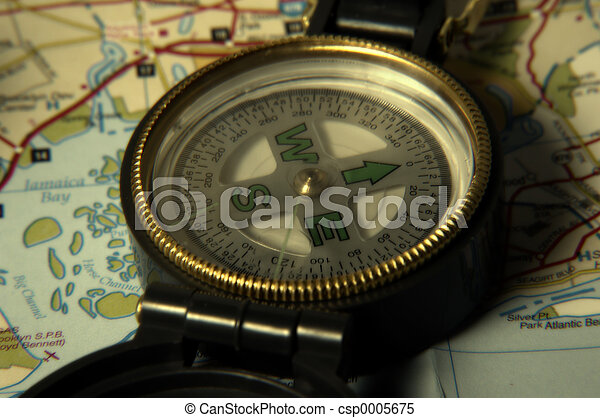 Compass and Map - csp0005675