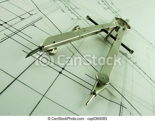 Compass & Design - csp0364083