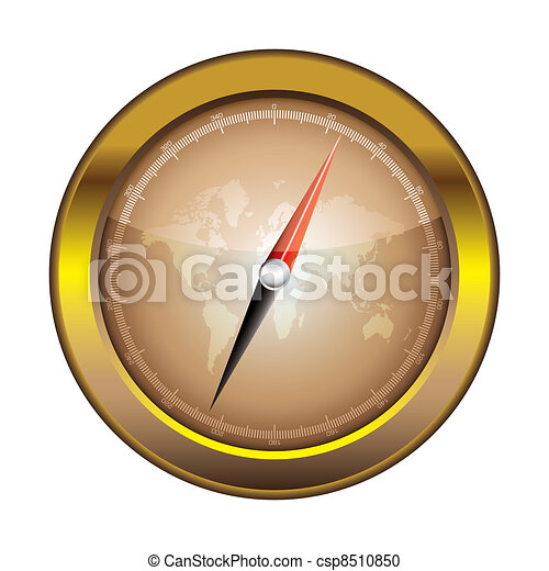 Compass icon retro - csp8510850