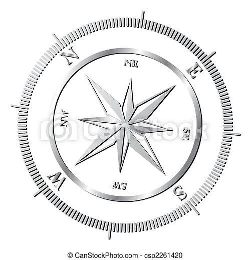 Compass rose - csp2261420