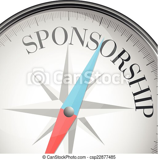 compass Sponsorship - csp22877485