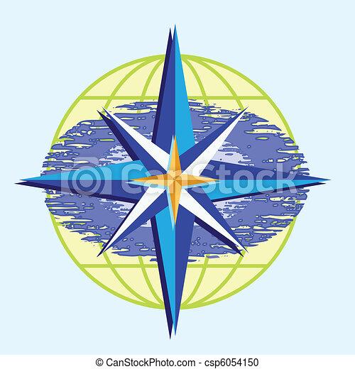 Compass star - csp6054150