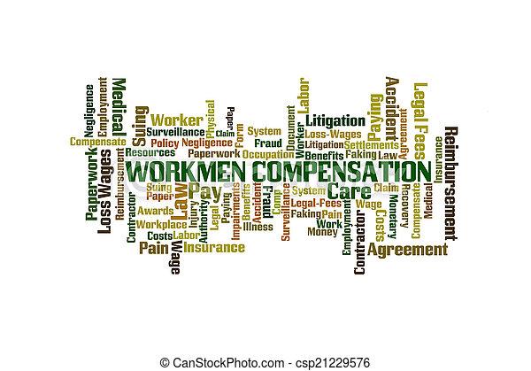 Compensación laboral - csp21229576