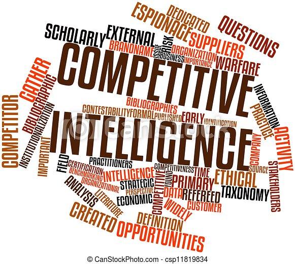 Competitive intelligence - csp11819834