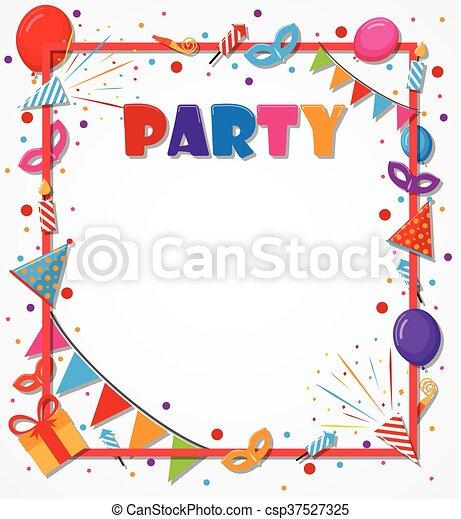 compleanno, fondo, celebrazione - csp37527325