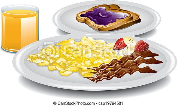 Complete Breakfast - csp19794581