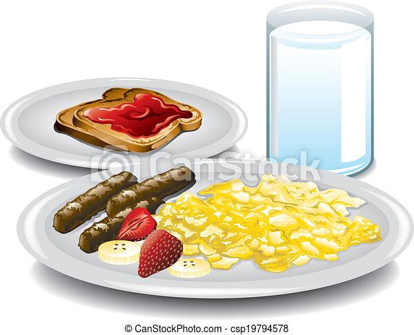 Complete Breakfast - csp19794578