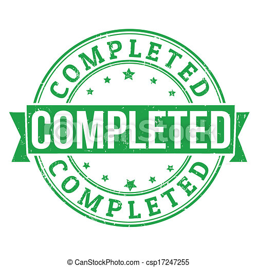 Completed stamp - csp17247255