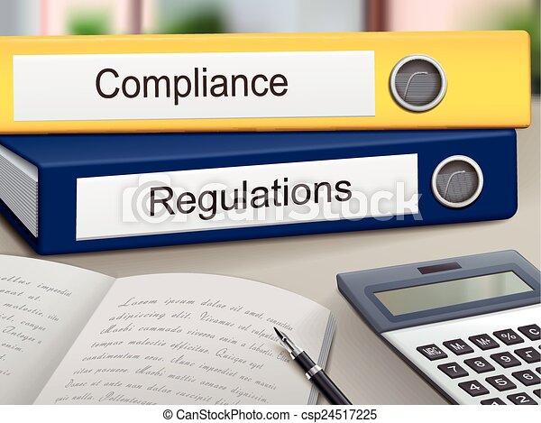 compliance and regulations binders - csp24517225