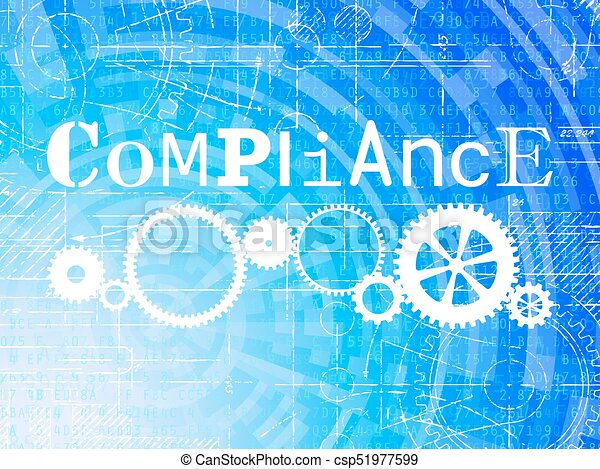 Compliance high tech background compliance word on high tech compliance high tech background csp51977599 malvernweather Gallery
