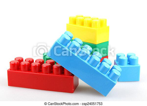 Bloqueos de construcción - csp24051753