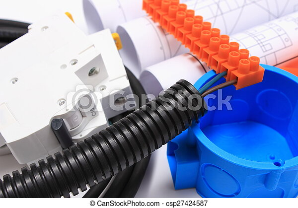 Components for electrical installations and rolls of diagrams - csp27424587