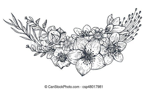 Images Of Flowers Coloring Pages
