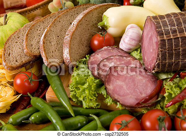 composition of food - csp2732505
