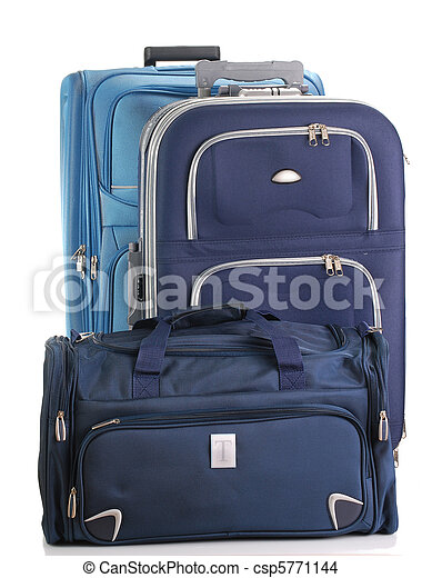 Composition with travel suitcases - csp5771144