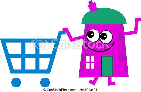 Casa de compras - csp1913431