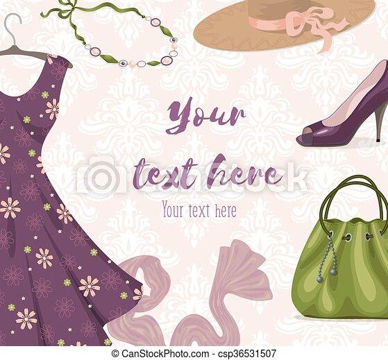 0e6472d27 compras de mujer, empresa / negocio, moderno, plano de fondo, venta al por  menor, o, ropa