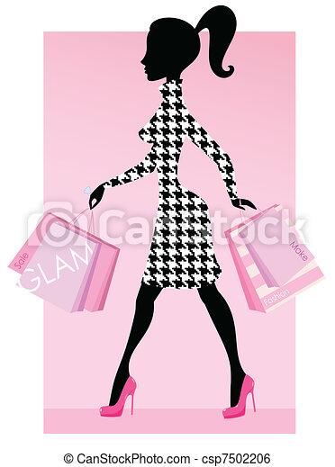 Compras Fashion - csp7502206