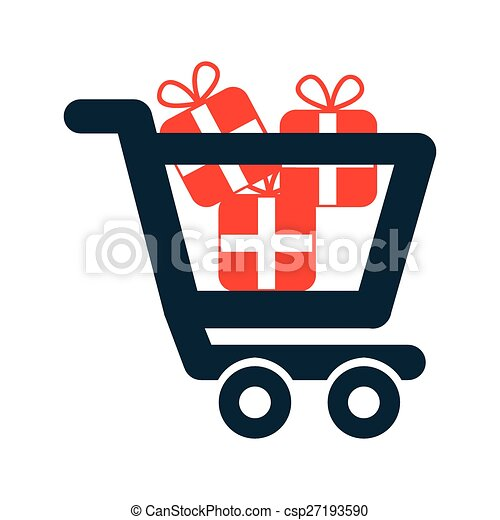 compras, icono - csp27193590