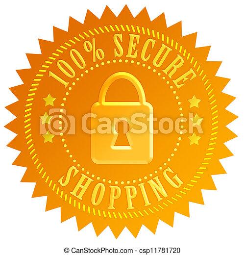 Un icono seguro - csp11781720