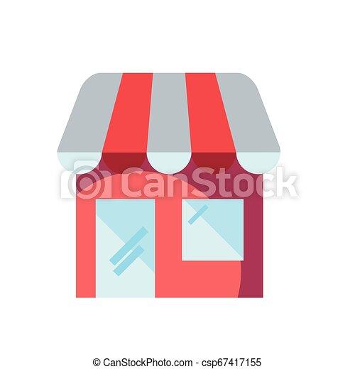 Una tienda de compras en línea - csp67417155