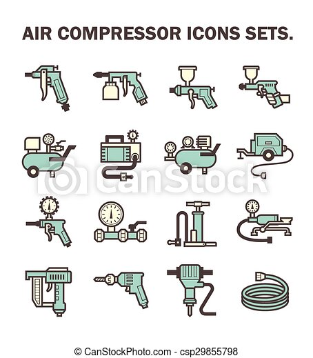 compresseur, air - csp29855798