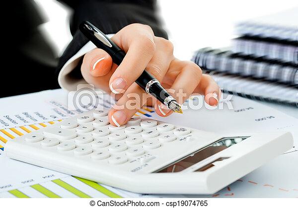 comptabilité, business - csp19074765