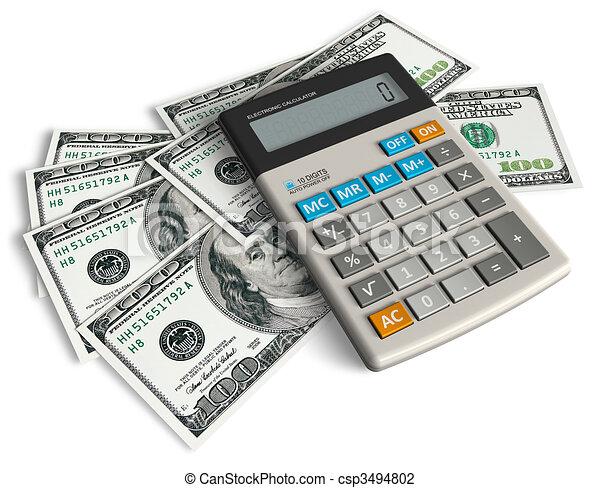 comptabilité, concept - csp3494802