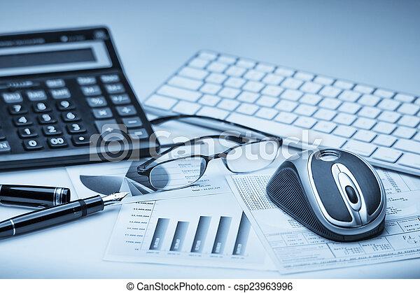 comptabilité, financier - csp23963996