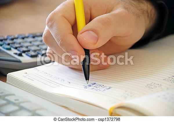 comptabilité - csp1372798
