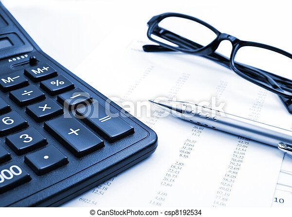 comptabilité - csp8192534