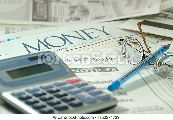 compter, financier - csp0274739