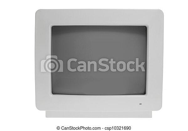 computador, antigas, monitor - csp10321690