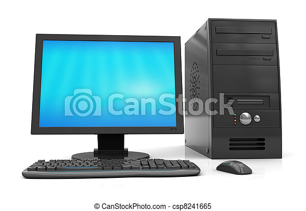 computador, desktop - csp8241665