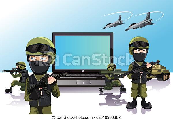 computador, proteção - csp10960362