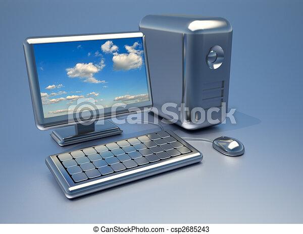 computadora - csp2685243