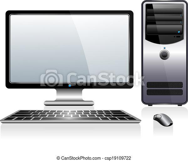 Computadora de escritorio - csp19109722