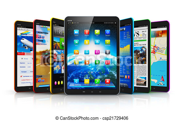 Computadoras de tablet - csp21729406