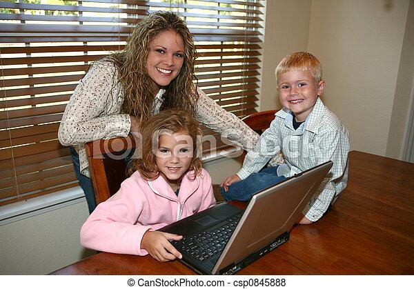 Computer At Home - csp0845888