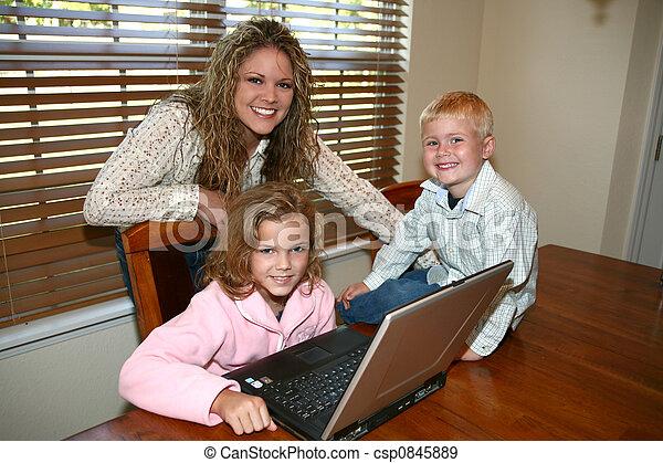 Computer At Home - csp0845889