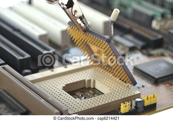computer Central processor - csp6214421