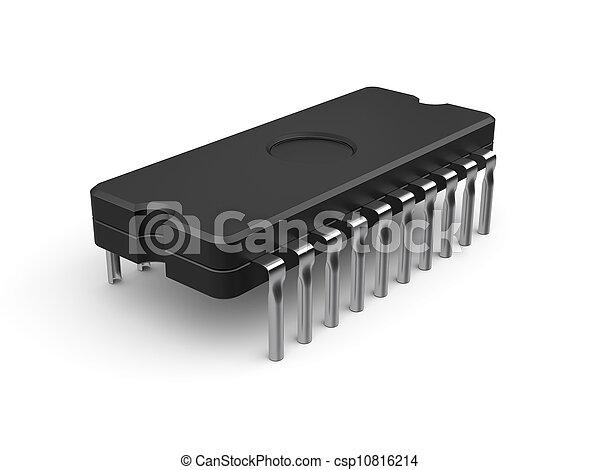 Computer chip - csp10816214