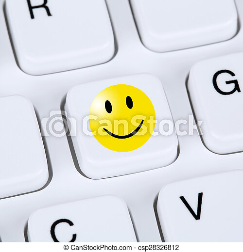Computer Concept Happy Smiley Symbol Assessment Feedback Service